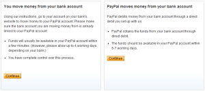 Adding Funds with PayPal