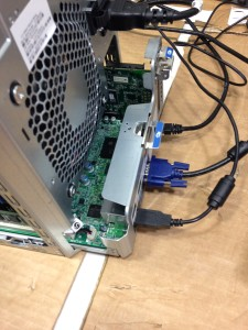 HPE ProLiant Gen8 G1610T Motherboard Removal