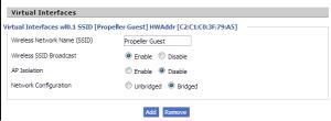 DD-WRT Virtual Wifi Network
