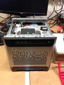 HPE ProLiant Gen8 G1610T Without Case