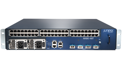 Juniper MX204 – Enabling 100G ports