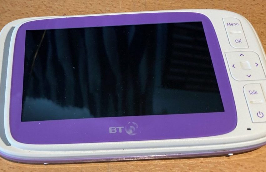 BT 6000 Baby Monitor Repair